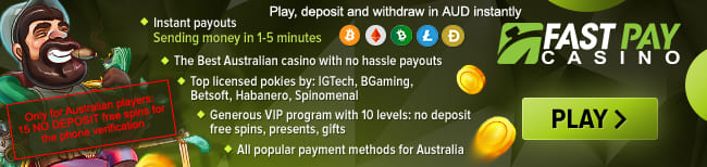 Fasypay casino for Australia
