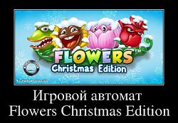Flowers christmas edition игровой автомат горилла игровой автомат