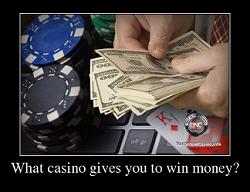 In what casino is easier to win money