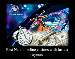 Best Netent online casinos with fastest payouts