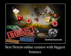 Best online casinos with biggest bonuses