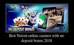 Netent No Deposit Bonus