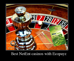 Best NetEnt casinos with Ecopayz