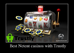 Best Netent casinos with Trustly