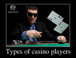 Types of casino players