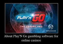About Play'N Go gambling software for online casinos