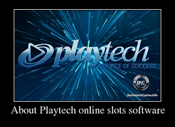 About Playtech online slots software