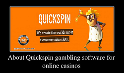 About Quickspin gambling software for online casinos