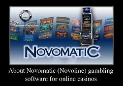 Liste der Online Casinos Novomatic