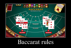 Rules of Baccarat at Canadian casinos