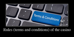 Terms & Conditions at the Canadian online casinos. Awareness of the casino rules