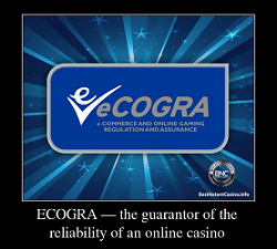 ECOGRA — the guarantor of the reliability of an online casino