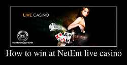 How to win at NetEnt live casino
