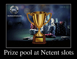Prize pool at Netent slots