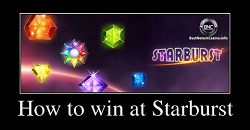 How to win at Starburst slot?