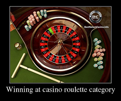 Winning at casino roulette category